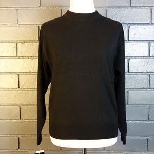 NWT Black Crewneck Sweater